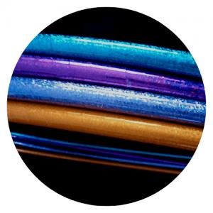 hula hulas de colores