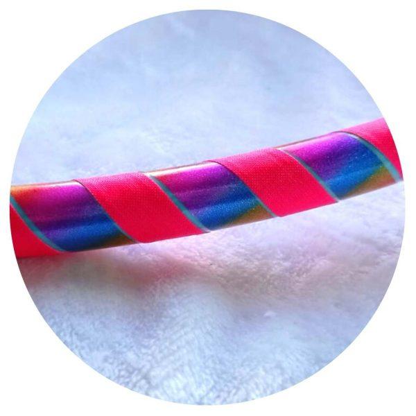 hula arcoíris con fucsia colombia