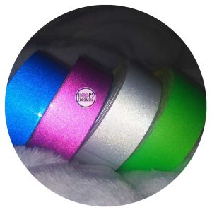 cintas para hula hula reflectivas