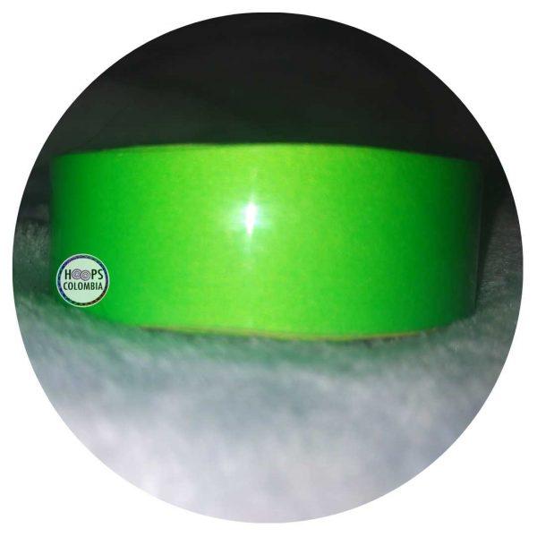 Cintas Reflectivas verde para hula hoop colombia