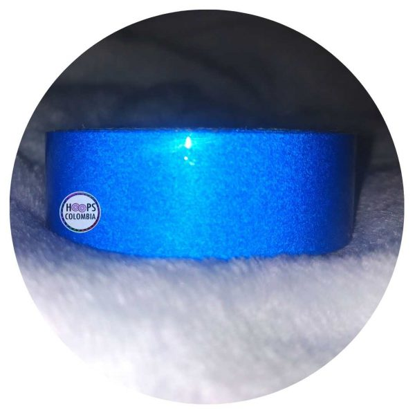 Cintas Reflectiva azul para hula hula